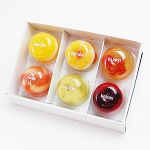 キラキラ輝くフルーツゼリー♪たかはたファームミックスゼリー(6個セット)プレゼント ギフト 御祝 内祝 誕生日 御礼 お供
