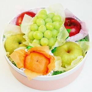 【 シャインマスカット 入り 秋のフルーツASSORTMENT】 敬老の日 種なし 皮ごと食べられる ぶどう ブドウ 柿 りんご 国産 ギフト おしゃれ 贈り物 果物 くだもの フルーツセット 内祝 お祝 お礼