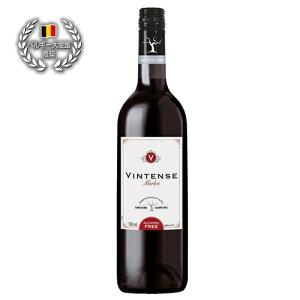 フランス産ワインから作った本格派!!美味しいノンアルコール・スティルワインヴィンテンス・メルロー(赤)
