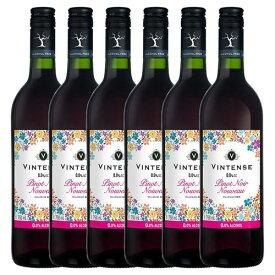 6本まとめて【送料無料|沖縄除く】ヴィンテンスピノ・ノワールヌーヴォー750ml(ノンアルコールワイン)