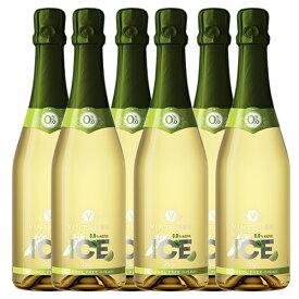 【送料無料 沖縄除く】ヴィンテンスアイス フーゴ750ml(ノンアルコールワイン+ライム+フレッシュミント)6本セット