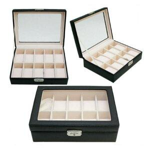 送料無料 ベローナ(VERONA) 牛革10本時計ケース ボックス コレクションケース 即納品 ウォッチケース