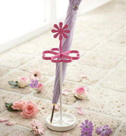 傘立て 新築祝い 結婚祝い 開業祝い 開店祝い 内祝い プレゼント 贈り物 ギフトに最適 アンブレラスタンド 傘立て 傘たて レインラック floral(フローラル)(デイジー)【傘立て】