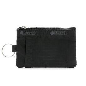 レスポートサック LeSportsac IDカードケース (ブラック) 2437 5982 ID CARD CASE BLACK 無地 シンプル 黒 くろ
