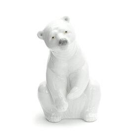 リヤドロ LLADRO 白クマ 1001208 RESTING POLAR BEAR ポーセリン 陶器 くま 【ラッキーシール対応】