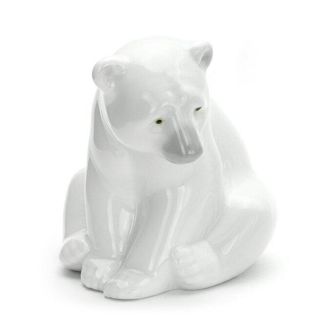 リヤドロ LLADRO 白クマ 1001209 SEATED POLAR BEAR ポーセリン 陶器 くま 【楽ギフ_包装】