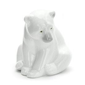 リヤドロ LLADRO 白クマ 1001209 SEATED POLAR BEAR ポーセリン 陶器 くま 【ラッキーシール対応】