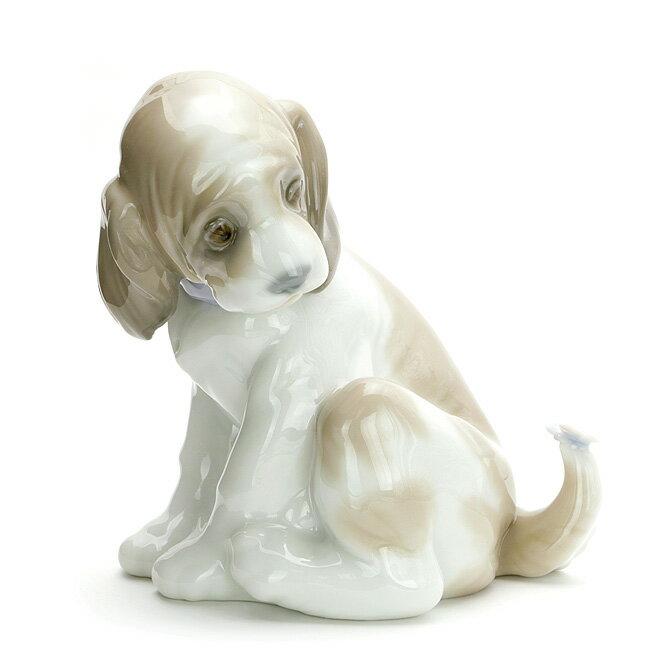 リヤドロ LLADRO マイフレンド 1006210 GENTLE SURPRISE ポーセリン 陶器 犬 【楽ギフ_包装】