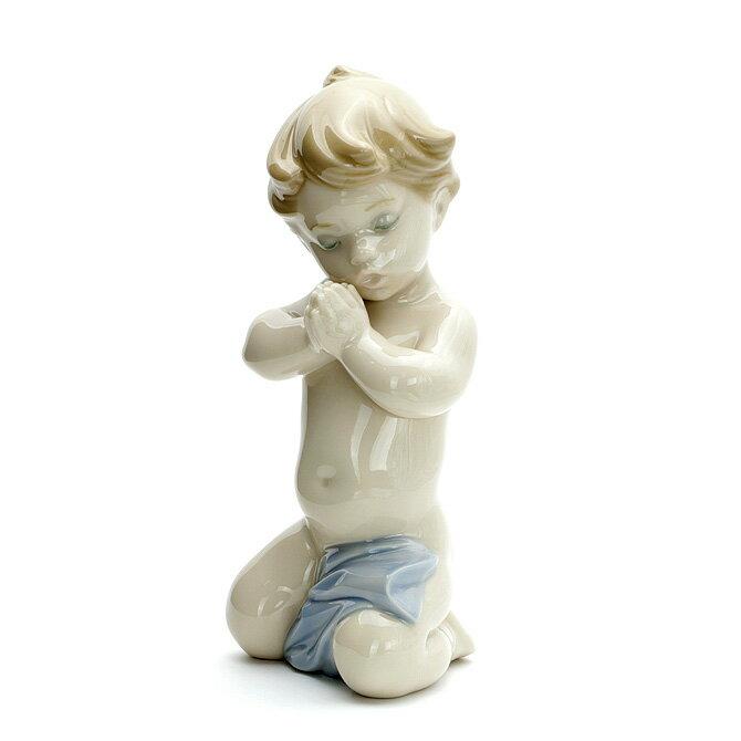 リヤドロ LLADRO お祈りの時間 1006496 A CHILD'S PRAYER ポーセリン 陶器 【楽ギフ_包装】