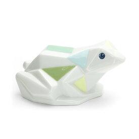 リヤドロ LLADRO Origami カエル 1009266 FROG ポーセリン 陶器 折り紙かえる 【ラッキーシール対応】