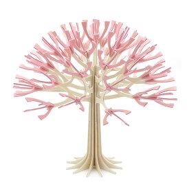 ロヴィ lovi シーズンツリー 22cm (チェリーピンク) CHERRY TREE LIGHT PINK 木 ウッド グリーディングカード