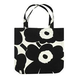 マリメッコ marimekko ウニッコ トートバッグ (ホワイト×ブラック) 047314 192 Notko Unikko bag 【ラッキーシール対応】