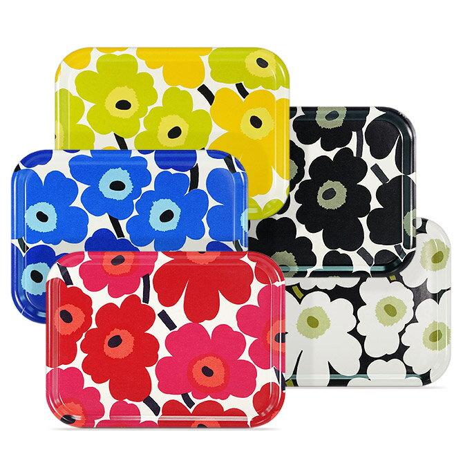 マリメッコ marimekko ミニウニッコ プライウッドトレー (5色)27x20cm 067766 064863 MINI UNIKKO Plywood tray トレイ