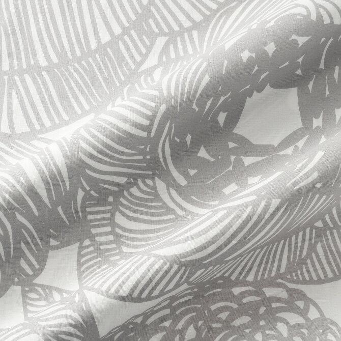 ★期間限定タイムセール★ マリメッコ marimekko ファブリック生地 クルイェンポルヴィ (191 グレー) 10cm単位カット販売 066387 191 Cotton fabric KURJENPOLVI マリメッコ生地