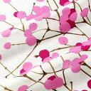 ★期間限定タイムセール★ マリメッコ marimekko ファブリック生地 ルミマルヤ (130 ピンク) 10cm単位カット販売 065175 130 Cotton fabric LUMIMARJA