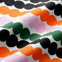 マリメッコ marimekko ファブリック生地 ラシィマット (136 マルチカラー) 10cm単位カット販売 063280 136 Cotton f…