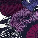 マリメッコ marimekko ファブリック生地 シィールトラプータルハ (140 ホワイト×パープル系) 10cm単位カット販売 0…