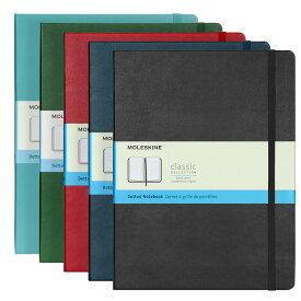 モレスキン MOLESKINE クラシック ノートブック (ドット方眼) エクストララージ ハードカバー / 19.0x25.0cm(5色) CLASSIC NOTEBOOKS HARD COVER DOTTED XLARGE