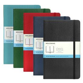 モレスキン MOLESKINE クラシック ノートブック ドット方眼 ラージ ソフトカバー (全5色) CLASSIC NOTEBOOKS SOFT COVER LARGE DOTTED