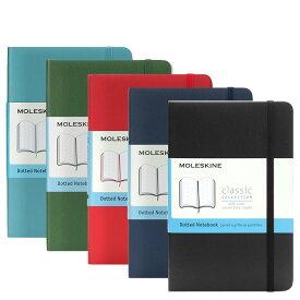 モレスキン MOLESKINE クラシック ノートブック ドット方眼 ポケット ソフトカバー (全5色) CLASSIC NOTEBOOKS SOFT COVER POCKET DOTTED