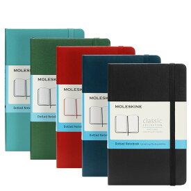 モレスキン MOLESKINE クラシック ノートブック (ドット方眼)ポケット ハードカバー / 9.0x14.0cm(5色) CLASSIC NOTEBOOKS HARD COVER DOTTED POCKET
