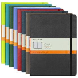 モレスキン MOLESKINE クラシック ノートブック ルールド(横罫) エクストララージ ハードカバー / 19.0x25.0cm(8色) CLASSIC NOTEBOOKS HARD COVER RULED XLARGE