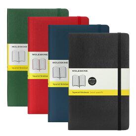 モレスキン MOLESKINE クラシック ノートブック 方眼 ラージ ソフトカバー (全4色) CLASSIC NOTEBOOKS SOFT COVER LARGE SQUARED スクエア