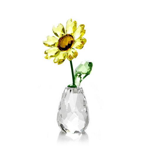 スワロフスキー SWAROVSKI フラワードリームス サンフラワー 7.1 x 3.2 x 3.4 cm (クリア×イエロー) 5254311 Flower Dreams Sunflower 【ラッキーシール対応】