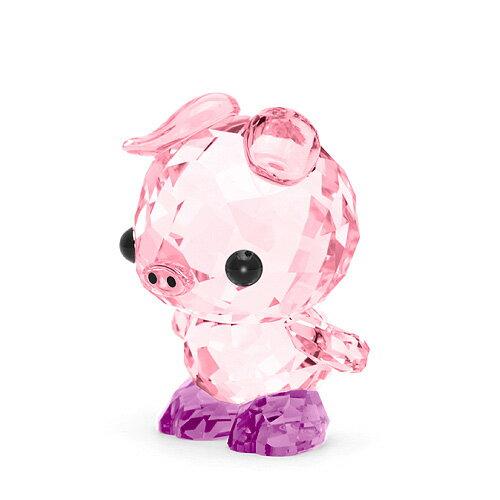 スワロフスキー SWAROVSKI 十二支 ピッグ 3.2 x 2.4 x 2.3 cm (ピンク) 5302557 ZODIAC DETERMINED PIG ブタ 豚 亥 猪 イノシシ 干支