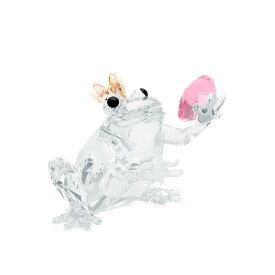 スワロフスキー SWAROVSKI カエルの王子様 3.4 x 3.8 x 3.5 cm (クリア) 5492224 FROG PRINCE かえる フロッグ