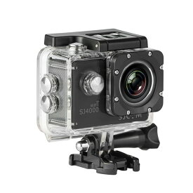 SJCAM 正規品 SJ4000 WiFi 防水 アクションカメラ 予備バッテリプレゼント バイク ツーリング ドライブレコーダー GoPro をお考えの方に ◇ALW-SJ4000-WIFI | スポーツカメラ 防水カメラ ウェアラブルカメラ バッテリー ウエアラブルカメラ アクションカム 小型カメラ 小型