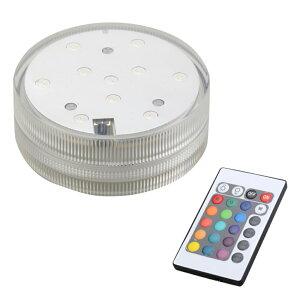 防水 デコレーション LEDライト 水中 防水 ライト ランプ マルチカラー LED ◇ALW-KS-SB-010M【定形外郵便】