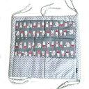 ベビーベッド ポケット収納 おむつストッカー おむつバッグ ウォールポケット 多機能 ベッドサイド 赤ちゃん 新生児 …