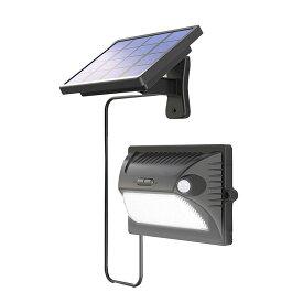 LEDソーラーライト 180度感知 人感センサー 明るさセンサー ライト ソーラーパネル分離 太陽光充電 自動点灯 白色光 RGB照明 IP65防水 防犯 玄関 ◇ALW-YL002-5B | ソーラーライト おしゃれ ledライト 人感センサーライト 屋外 センサーライト ソーラー 光センサー 防水