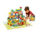 積み木 知育玩具 積木 つみき 木製 子供 おもちゃ パズル アルファベット 数字 数学記号 十二支 148ピース ◇ALW-QZM-…