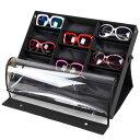 メガネ サングラス 収納 コレクションケース 18本 展示ケース スタンド 眼鏡 ディスプレイ コレクション◇ALW-GLCASE-…