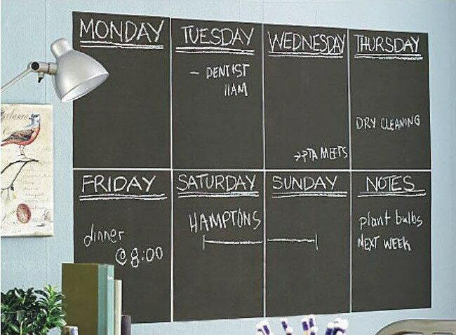 子供 落書き 黒板シート ホワイトボード 落書き メモ帳 スケジュール表 貼れる 切れる ブラックボードシート ◇FS-BB01