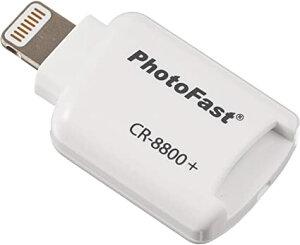 フォトファースト PHOTO FAST iOS 対応 microSD カードリーダー PhotoFast Cardreader CR-8800+