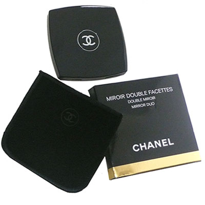 シャネル 鏡 CHANEL ダブルミラー ミロワールドゥーブルファセット コンパクトミラー【新品】【ショップバッグ付】 【あす楽対応】【RCP】【はこぽす対応商品】