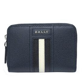 バリー BALLY コインケース 小銭入れ カードケース TIVY.LT 17 6221824 ネイビー【送料無料】【あす楽】【RCP】【楽ギフ_包装】【はこぽす対応商品】