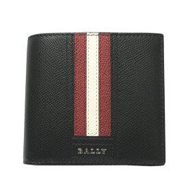 バリー 財布 BALLY 二つ折り財布/小銭入れ付 TEISEL.LT 6218013 BLACK 【送料無料】【あす楽】【RCP】【楽ギフ_包装】【はこぽす対応商品】