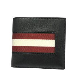 バリー 財布 BALLY 二つ折り財布/小銭入れ付 BEISEL HP 100 6231972 BLACK ブラック 【送料無料】【あす楽】【RCP】【楽ギフ_包装】【はこぽす対応商品】