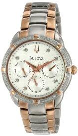 ブローバ 腕時計 レディース 98R177 Bulova Women's 98R177 Multi-Function Dial Watchブローバ 腕時計 レディース 98R177