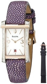 ブローバ 腕時計 レディース 98R197 Bulova Women's 98R197 Analog Display Quartz Purple Watchブローバ 腕時計 レディース 98R197