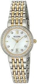 ブローバ 腕時計 レディース 98R211 Bulova Women's Quartz Watch with Two-Tone-Stainless-Steel Strap, 14 (Model: 98R211)ブローバ 腕時計 レディース 98R211