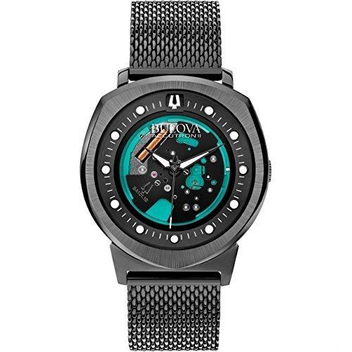ブローバ 腕時計 メンズ 98A136 Bulova Men's 98A136 Accutron II Analog Display Japanese Quartz Black Watchブローバ 腕時計 メンズ 98A136
