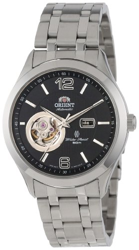 オリエント 腕時計 メンズ CDB05001B Orient Men's CDB05001B 50m Semi Skeleton 21 Jewels Watch with Link Braceletオリエント 腕時計 メンズ CDB05001B
