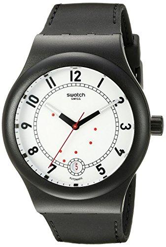 スウォッチ 腕時計 メンズ SUTB402 Swatch Unisex SUTB402 Originals Analog Display Swiss Automatic Black Watchスウォッチ 腕時計 メンズ SUTB402