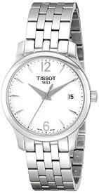 腕時計 ティソ レディース T0632101103700 【送料無料】Tissot Women's T0632101103700 Tradition Analog Display Quartz Silver Watch腕時計 ティソ レディース T0632101103700