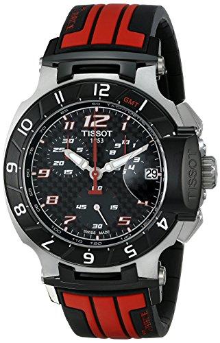 ティソ 腕時計 メンズ T0484172720701 Tissot Men's T0484172720701 T-Race MotoGP Limited Edition Analog Display Swiss Quartz Red Watchティソ 腕時計 メンズ T0484172720701